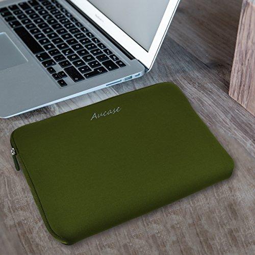 Aucase 156 Zoll Laptop Hlle Laptoptasche Notebooktasche Ultradnne Strkste Neopren Wasserfeste Schutzhlle fr Laptops Ultrabooks in Vielen Farben erhltlich Aktentaschen