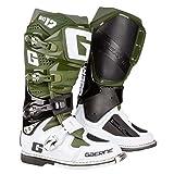 Gaerne Motocross-Stiefel SG 12 Grün Gr. 43
