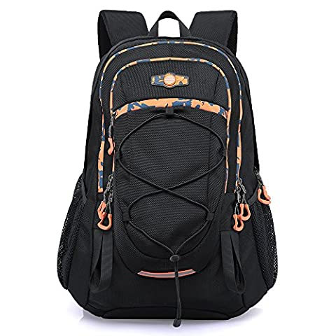 KAKA Men's Laptop Backpack Business Hiking Outdoor Water Resistant Bag Fits Most 17inches Laptops
