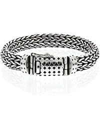 gioielleria colimaçon–Bracciale Snake in argento 925bracciale maglia serpente per uomo