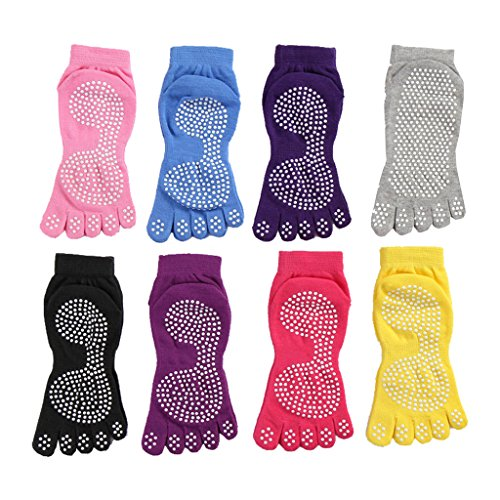 3 x Trampolin.Pro Anti-Rutsch-Socken Größe 42-45 XXL ABS Socken Pilates Yoga