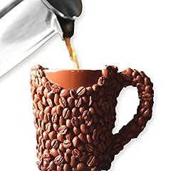 Idea Regalo - LA Tazza Chicchi di Caffè, Originale Coppa di Caffè per Uomini e Donne per Natale, Tazza Mug di Compleanno Perfetta per Marito, Papà, Mamma, Fratello, Sorella o Amica
