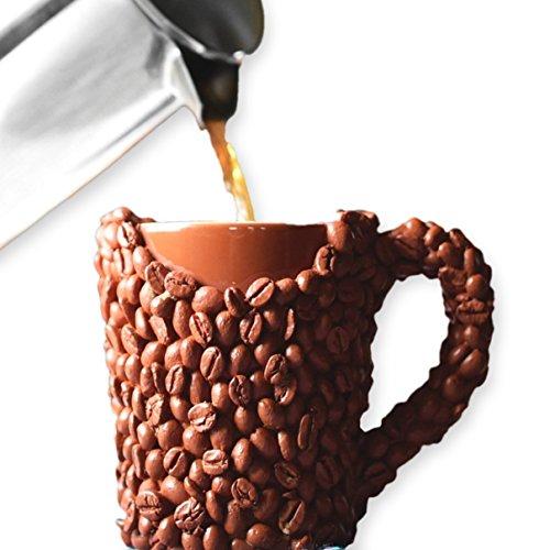 Taza de Granos de Café, Despierta y Huele el Café, Regalo Original de los Amantes del Café para...