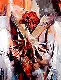 Pretty Nude - Abstraktes Acrylgemälde - Martin Klein - Erotik Akt - Moderne Kunst online kaufen