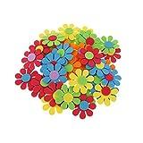 Generic Lot de 50pcs Fleur Mixte Mousse Enfants Décoration Artisanat Bricolage Diy...