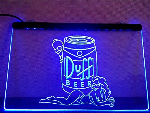 duff-simpsons-bier-led-zeichen-werbung-neonschild-blau