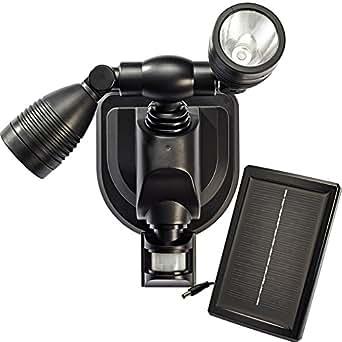 Projecteur solaire 2 x 3 W Ultra Puissantes CREE® - 250 Lumens - Détecteur de Mouvements