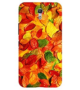 Chiraiyaa Designer Printed Premium Back Cover Case for Lenovo Zuk Z1 (nature leaves) (Multicolor)
