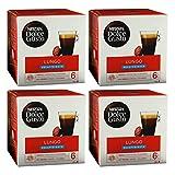 Nescafé Dolce Gusto Caffè Lungo Decaffeinato, Kaffee, Kaffeekapsel, 4er Pack, 4 x 16 Kapseln