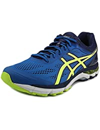 Asics gelpursue 2 (4e) Zapatilla de Running para Hombre Electric Blue-Flash Yellow