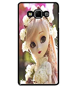 ColourCraft Beautiful Doll Design Back Case Cover for SAMSUNG GALAXY A7