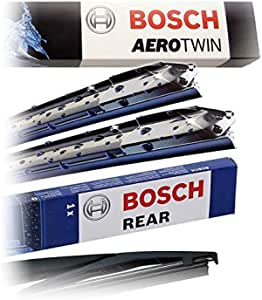 Set Bosch Wischer Wischerblatt Wischerblätter Scheibenwischer Scheibenwischerblätter Aerotwin Multi Clip Am461s Heckwischer Heckwischerblatt Heckscheibenwischer H230 Auto