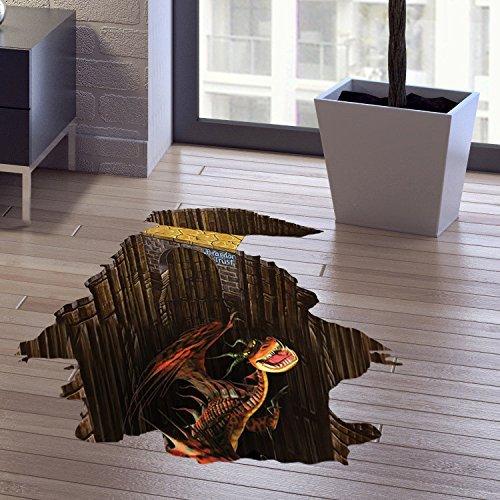 ... China Factory Custom Waterproof Non-slip Vinyl 3D Stickers, PVC Floor  Mats Room Decor ...