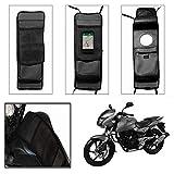 #1: SRK Shoppers Utility Tank Bag for All Bikes,(Black)