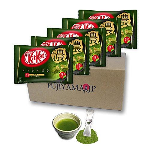 Japanese Kit Kat Matcha Taste Rich Green
