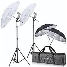 Neewer - Kit de fotografía con paraguas, para Canon 430EX II, 580EX II, 600EX-RT, Nikon SB600SB800SB900, Youngnuo YN 560, YN 565, Neewer TT560, TT680, TT850, TT860