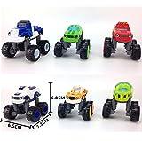 JINGYUAN BLAZE e il mostro macchine 6pezzi Set camion veicoli Racer Cars Toy