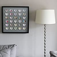 Large Heart 3D Personalised Picture From Your Greeting Cards, Perfect Wedding Gift