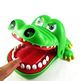 Livecity Funny Crocodile Mouth Dentist Bite Finger Game Adult Children Toy Xmas Gift