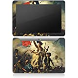 Samsung Galaxy Tab 10.1 Autocollant Protection Film Design Sticker Skin Delacroix France Révolution