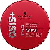 Schwarzkopf Osis Sand Clay Formbare Stylingpaste für lässige Styles und raue Looks, 1er Pack (1 x 85 ml)