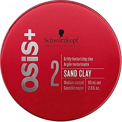 Schwarzkopf OSiS Arena Clay Forma Bare Styling Paste Para lässige Styles & raue Looks, 85ml
