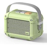 Divoom Macchiato Stylish Portable Bluetooth Speaker with FM Radio, 6W Output with TWS Function (Grün)