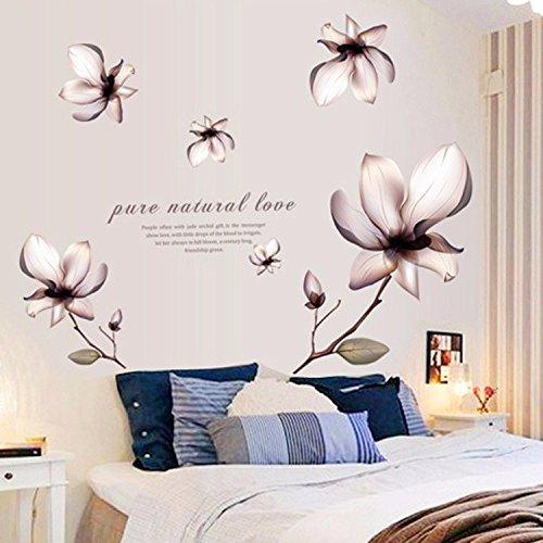 Xzpy129 vita creativa della parete della camera da letto for 3 disegni della camera da letto della base