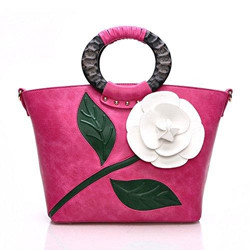 handtasche-frauen-pu-ethno-stil-fashion-flower-schulter-umhangetasche-red