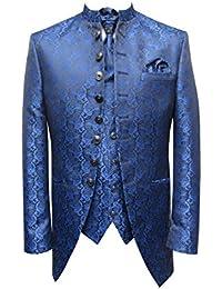Hochzeit Anzug Cutaway 5-teilig Jacquard Muga
