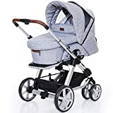 ABC Design Kombi-Kinderwagen Turbo 6 Style - Graphite Grey