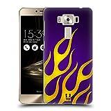 Head Case Designs Hot Rod Flammen Abziehbild Ruckseite Hülle für Zenfone 3 Deluxe 5.5 ZS550KL