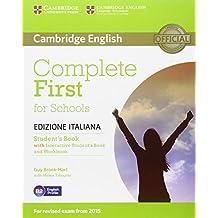 Complete first for schools. Student's book. Without answers. Per le Scuole superiori. Con e-book. Con espansione online