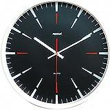 La pared circular 30,5 cm moderno reloj, reloj de pared silencioso, reloj de pared de habitación casa cocina-sala de estar, estilo 2