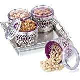 Sukhson India Bowl Tray Serving Set (Pack Of 5)
