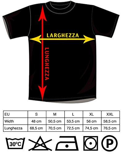 Mister Patch – T-Shirt Maglietta Super papà – Super Mamma – Auguri Festa del papà e della Mamma – Ideale per Regalo ai Figli (XL, Super papà) - 2