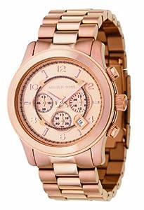 Reloj de caballero Michael Kors MK8096 de cuarzo, correa de acero inoxidable color oro de Michael Kors