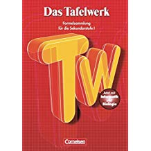 Das Tafelwerk - Östliche Bundesländer und Berlin: Das Tafelwerk 2001- Formelsammlung für die Sekundarstufe 1