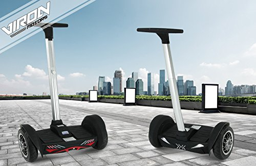 "Viron 10"" Smartway Driveboard Smart Board Elektroroller Elektro SegRoller (Schwarz)"