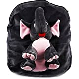 Blue Tree Soft Material School Bag For Kids Plush Backpack Cartoon Toy | Children's Gifts Boy/Girl/Baby/Decor School Bag For Kids(Age 2 To 6 Year) (Full Body Eliphant)