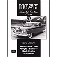 Nash 1949-1957: Ambassador 600- Airflyte Rambler-nash- Healey Stateman - 1951 1952 1953 1954 Car