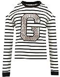 Garcia Jeans Mädchen Sweatshirt Offwhite (20) 164
