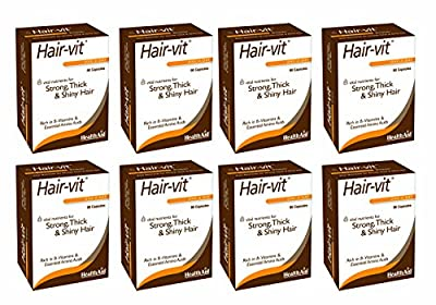 HealthAid Hair Vitamins for Hair Growth with Essential Vitamins and Minerals from HealthAid