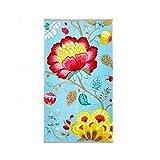 PiP Studio 260256202005Floral Fantasy Handtuch Baumwolle Blau 55x 100cm