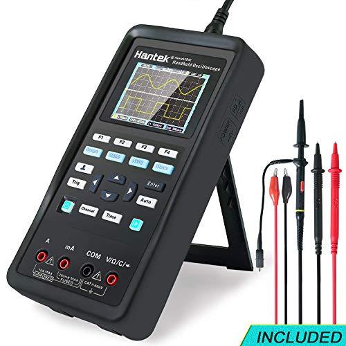 osciloscopio Digital + generador de formas de onda + multímetro portátil USB 2 canales 40 mhz prueba de pantalla LCD medidor de herramientas(40 MHz + 2CH + DMM + AFG)