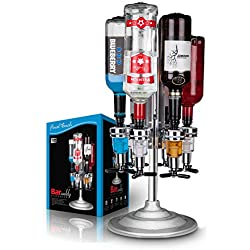 Final Touch 6 Bottle Bar Caddy Liquor Dispenser by Final Touch