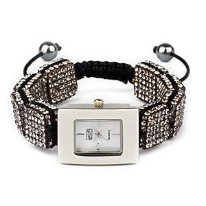 Eton 3020L-GY – Reloj analógico para Mujer de Otros Materiales Madre Perla