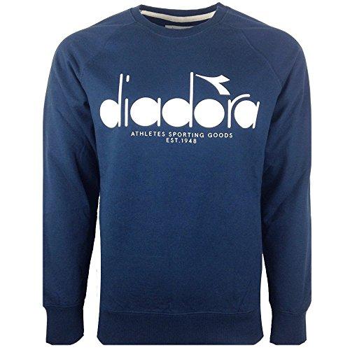 diadora-herren-sweatshirt-blau-blau-s