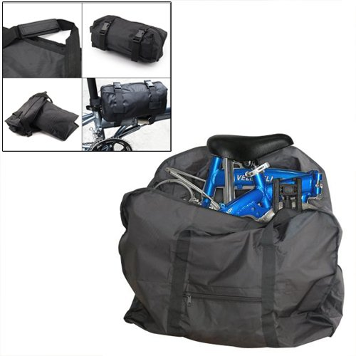 """Dcolor Bolsa de Transporte para Bicicleta Plegable 12\""""-20\"""""""