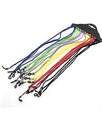 EMylo - Lote de 12 cordones de seguridad para gafas, multicolor